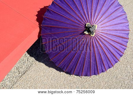 Japanese traditional umbrella