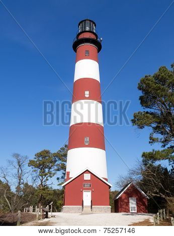 Assateague Lighthouse in Virginia