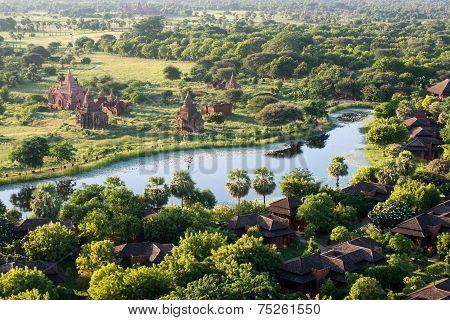 Temples In Bagan, Myanmar