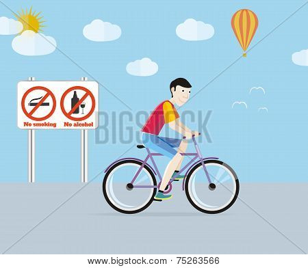 Bicycle tourism sport