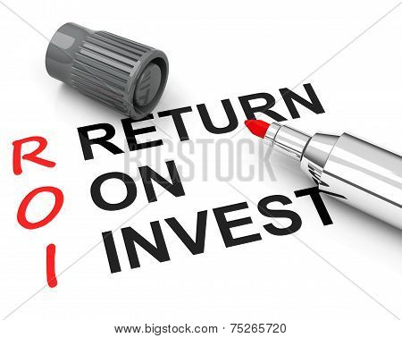 Roi - Return On Invest