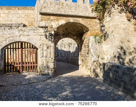 Medieval Defensive Gate