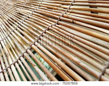 Bamboo Curtain H.d.r.
