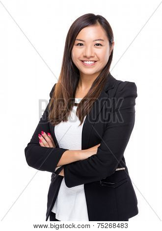 Singaporean businesswoman portrait