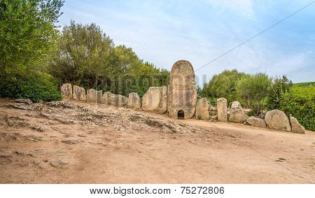 Tombs Coddu Vecchiu Near Arzachena