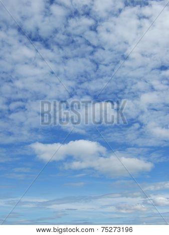 cloud on the bule sky