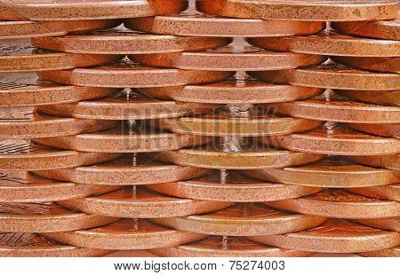 Coins Pile Plot