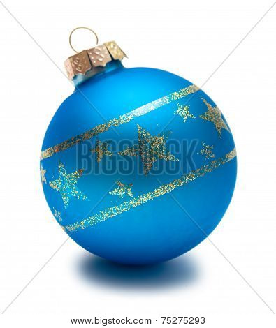 Blue christmas Sphere