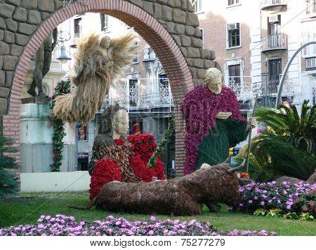 Malaga Nativity Display