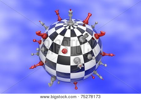 Chess Planet (political Balance).