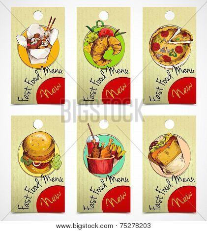 Fast food tags