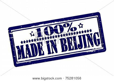One Hundred Percent Made In Baijing