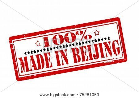One Hundred Percent Made In Beijing
