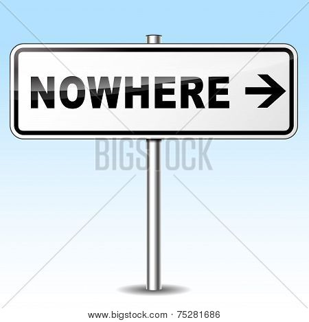 Nowhere Sign