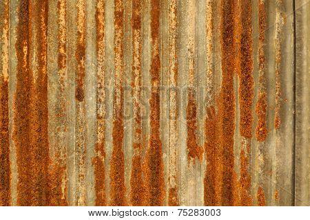 Grunge Rusty Galvanized Background