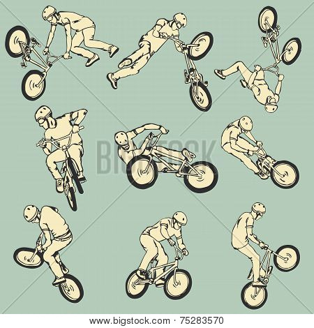 BMX Free style sport collection