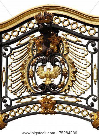 Gate near the Royal Buckingham Palace
