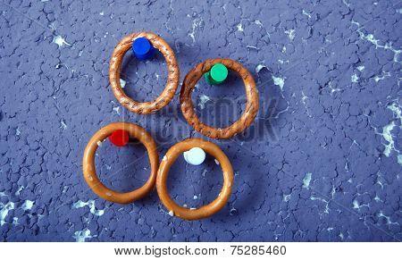 crispy ring crackers