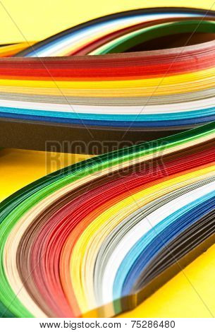 Colorful Paper Strips