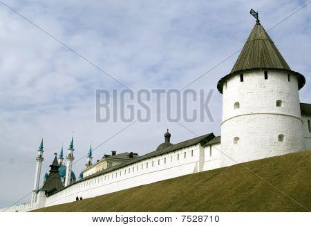 Kremlin In Kazan City