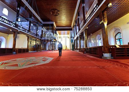 Arab Mosque In Istanbul Turkey
