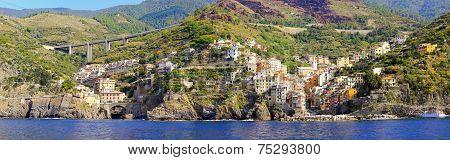 Riomaggiore Cityscape