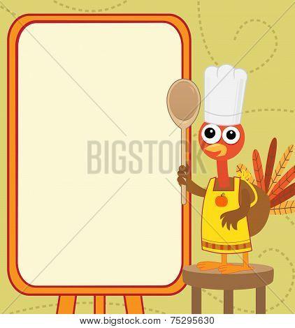 Turkey With Menu
