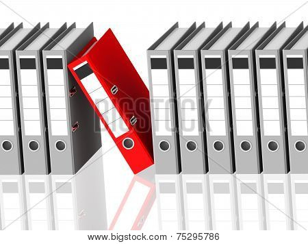 The Red Ring Binder