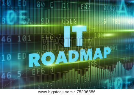 IT roadmap concept