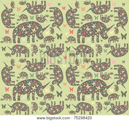 Rhinos pattern