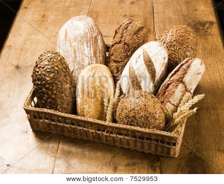 Various Types Of Brown Bread
