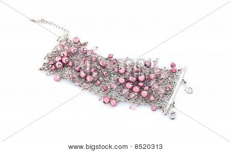 Gemstone Necklace And Bracelet