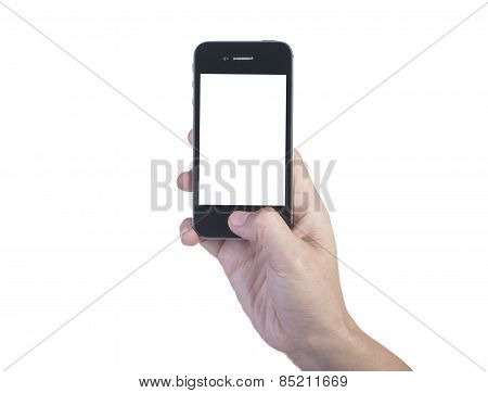 Mobile Phone On Hand
