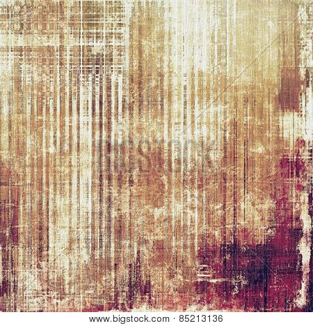 Vintage textured background. With different color patterns: yellow (beige); brown; gray; purple (violet)