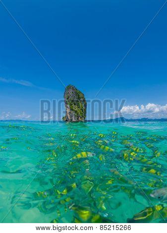 Poda Beach in Krabi