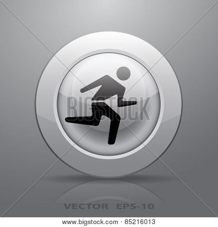 icon of running man