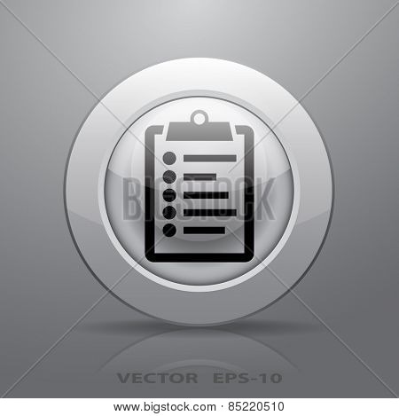 icon of clipboard