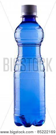 Water In Blue Bottle