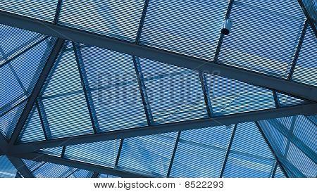 Blue Roof Pattern