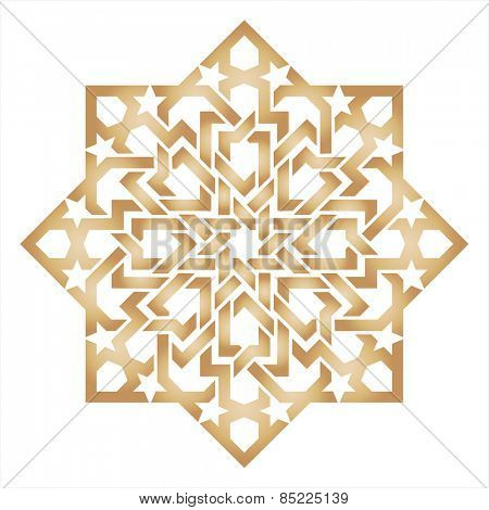Islamic traditional ornament