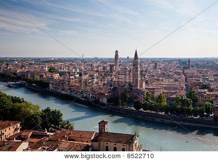 Aerial View Of Verona