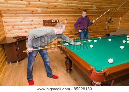 Billiards Players