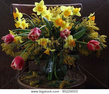 Bouquet From Spring Colours