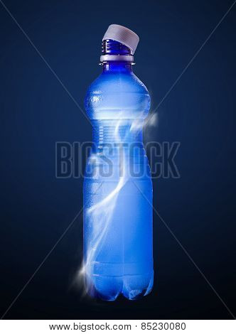 Water In The Plastic Bottle