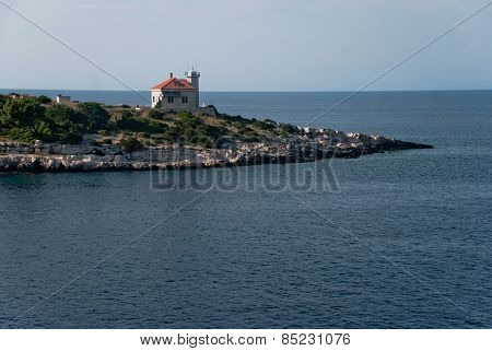 Lighthouse On Vis Island