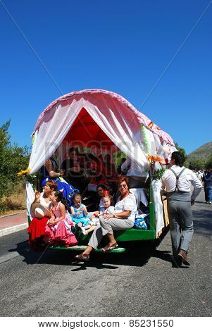Carnival caravan, Marbella.