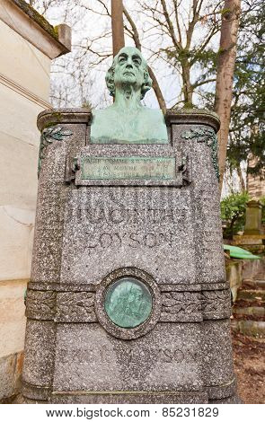 Tomb Of Pere Hyacinthe  In Paris