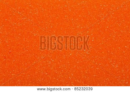 Orange sponge, a background or texture