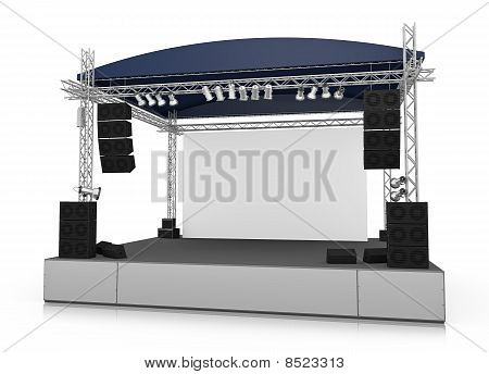Gig stage