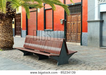 Architectural detail in Santa Cruz de Tenerife, Canary Islands, Spain